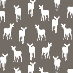 Hawthorne Threads - Fawn Silhouette - Fawn Silhouette in Stone--Backing for G's quilt