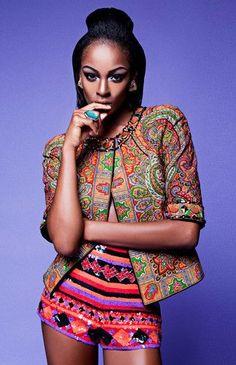 Vamos fazer misturinha? No quesito vestir, eu adoooooro misturar coisas e hoje nossa misturinha é étnica e Made in Africa <3. Estampas afri...