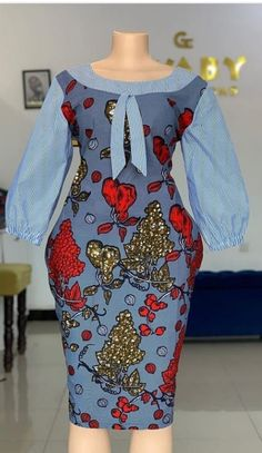 Latest African Fashion Dresses, African Dresses For Women, African Print Fashion, African Attire, Women's Fashion Dresses, African Print Dress Designs, Modern African Print Dresses, African Fashion Traditional, Outfits