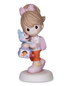 Another great find on #zulily! Boots & Backpack Girl Figurine by Dora the Explorer #zulilyfinds