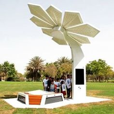 """Are """"Palm Trees"""" The Next Step In Solar Energy's Evolution?"""