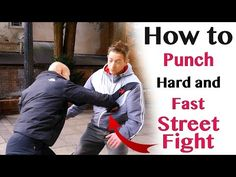 How to punch hard and fast   street fight - YouTube