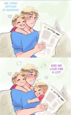Arthur would be me as a parent