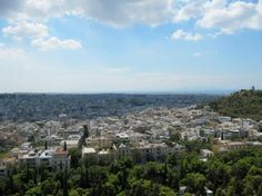 Athens Walking Tours: view from the Acropolis