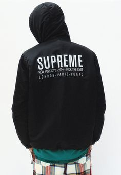 Fall Winter 2014 Satin Twill Pullover Supreme Clothing 10937c397