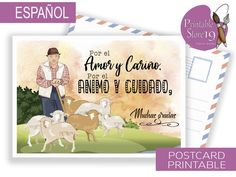 Hora Pico, Nota Personal, Spanish Greetings, Postcard Design, Sweet Notes, Card Sizes, Great Gifts, Greeting Cards, Lettering