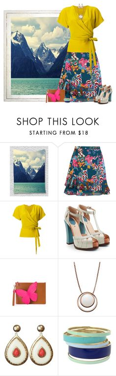 """""""end of summer"""" by niteowlgirl ❤ liked on Polyvore featuring Saloni, Etro, Fendi, Sophia Webster, Skagen and Lipsy"""
