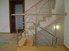 Balustrada Inox model fantezie cu traverse dispuse evantai | 0720.484.274. Mai multe modele pe InoxConstanta.ro Mai, Stairs, Furniture, Home Decor, Stairway, Decoration Home, Room Decor, Staircases, Home Furnishings