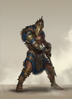Gladiator, Raw Hide on ArtStation at https://www.artstation.com/artwork/gladiator-d89bc795-2e04-4a31-bea1-6c0d0eaf9e8d