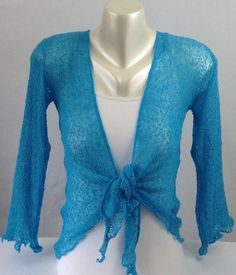 Beautiful Fair Trade Loosely Knit Shrug, One size and comes in 18 Gorgeous Colours. See more at www.truecolourfashion.co.uk