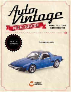Fiat X1/9 Five Speed (1979) #edicola #collezione #vintage #autovintage
