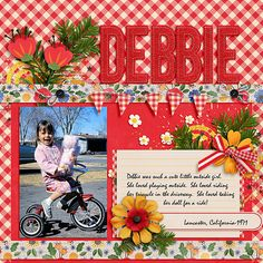 This is one of my sweet daughters when she was little.  Such precious memories.  Love you Debbie!  I used Believe in Magic: Honey Bear Collection by Amber Shaw & Studio Flergs  found here:  http://www.sweetshoppedesigns.com/sweetshoppe/product.php?productid=35854&cat=885&page=1
