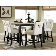 Woodbridge Home Designs Archstone Counter Height Dining Table  Get  unbelievable discounts up to 70 Tommy Bahama Home Kingstown Sienna Bistro Dining Table  Get  . Sienna Collection Black Counter Dining Table. Home Design Ideas