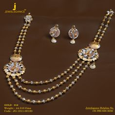 Gold 916 Premium Design Get in touch with us on Gold Mangalsutra Designs, Gold Jewellery Design, Silver Jewelry, Designer Jewelry, India Jewelry, Fine Jewelry, Indian Wedding Jewelry, Necklace Designs, Fashion Jewelry