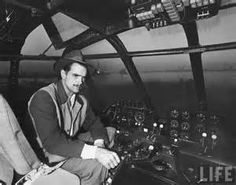 """Howard Hughes sits in the cockpit of his """"Spruce Goose,"""" the largest flying boat ever built, as well as the largest wingspan of any aircraft in history, Howard Hughes, John Von Neumann, Nikola Tesla, Spruce Goose, Rare Historical Photos, Flying Boat, Dream Machine, Life Magazine, Old Photos"""