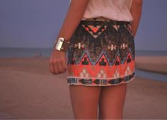 Sequins of Summer skirt