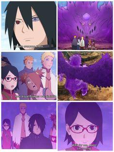 Sasuke activates his Susano'o and the kids are amazed They're going to rescue Sakura Boruto Episode 22 - Gaiden ❤️❤️❤️