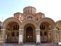 UNESCO Monuments Route Thessaloniki is an open Museum of Early Christian and Byzantine Art. In 1988 the UNESCO declared World Heritage Sites 15 of the. Byzantine Art, Early Christian, Thessaloniki, World Heritage Sites, Explore, History, City, Building, Travel