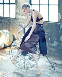 Jung Ho Yeon for Vogue Aug`15