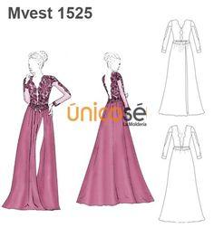 Patrones para vestidos de fiesta largos