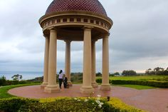 """Thank you for sharing your favorite #pelicanhill #memory with us, Kelly! """"My boyfriend invited my whole family and my best friends to help him propose to me. It had been raining all day, but the second we pulled up, it stopped. He proposed under the dome where my family was hiding in the bushes taking pictures. Then we walked to the Coliseum for dinner where my friends were waiting to surprise me. He also surprised me with a bungalow that night. It was the best day of my life thank you!"""