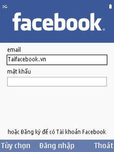 Tai facebook cho điện thoại di động