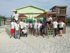 DI Aruba Lend-A-Hand Project at Anglo Kleuterschool