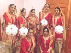Punjabi#fun#wedding#bridesmaid#