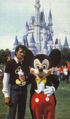 Mickey et M.J Source : By the way...