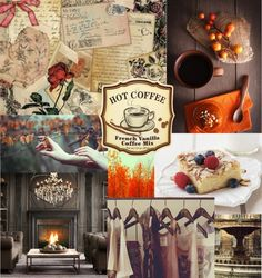 Waiting for Christmas - Inspiration board @ http://theliterarychic.wordpress.com