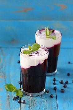 Beverages│Bebidas -Blueberry Smoothie- #Beverages