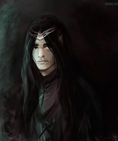 "Maeglin by Phobos-Art Though he was one of the mighty of Gondolin, he most desired Turgon's daughter Idril who was his first cousin. But there was no hope for him, as the ""Eldar wedded not with kin so near"". More over, Idril perceived an evil coming from him and for as long as Gondolin existed she avoided him. Thus the love inside Maeglin's heart turned to darkness and though he had neither her nor the kingship of Gondolin, he endured it, waiting for an opportunity to seize them both."