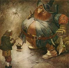 """Illustration by Einar Norelius from """"Bland Tomtar och Troll"""" Children's Picture Books, Fairy Art, Vintage Children, Fashion Pictures, Troll, Vintage Art, Mythology, Illustrators, Fairy Tales"""
