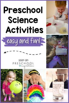 These preschool science activities are sure to be a big hit with little learners and are perfect for encouraging budding scientists. They are great for kindergarten and homeschool, too! Each uses minimal ingredients you probably already have on hand - easy peasy! Preschool Science Activities, Preschool Centers, Educational Activities For Kids, Science Experiments Kids, Toddler Preschool, Learning Activities, Preschool Activities, Preschool Prep, Steam Activities