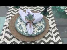 Recebendo em casa- 2 mesas postas- niver da Cris - YouTube