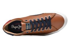 Deportivas Pepe jeans Luke Leather vista de arriba
