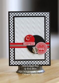 Amazing Birthday Surprise Card - Kristas Stamper Room