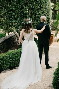 Love this bride's sheer, lace back and long wedding dress train | image by Jana Contreas   #weddingdress #bridalportrait #bridalstyle #bridalfashion #bridalinspo #bridalinspiration #bride #bridalhair #bridalhairstyle #bridalmakeup #gettingreadyinspo