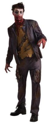 Rubies Costume Adult Zombie Shawn Costume Tag a friend who can pull this off! #Zombie #Halloween #Costume