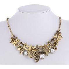 Vintage Tassel Statement Choker Necklace – Indo Bling