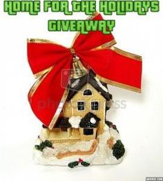 Bloggers Wanted: HOme for the Holidays Giveaway Events (signups end 10/29):       Bloggers needed to help promote this latest giveaway.  Dates are still being determined. Hopefully October 30th – November 30th (Cyb... ~  http://www.singlemommies.net/2014/10/bloggers-wanted-home-holidays-giveaway-events-signups-end-1029/
