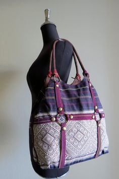 Ethnic Vintage Handmade bags  bohemian  beautiful by shopthailand, $64.99