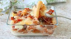 PACCHERI AL FORNO con melanzane e mozzarella | vale cucina e fantasia | Bloglovin'