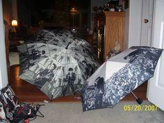 Elvis umbrella's