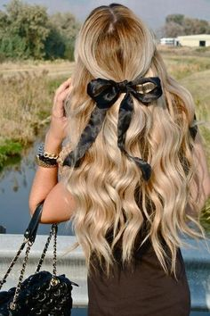 Good Hair is a Great Accessory!  @Lindsay Hand