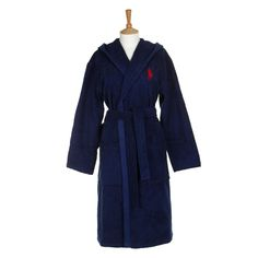 Discover the Ralph Lauren Home Greenwich Navy with Red Bathrobe at Amara