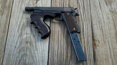 John Dillingers converted 1911 to .38 super, full automatic