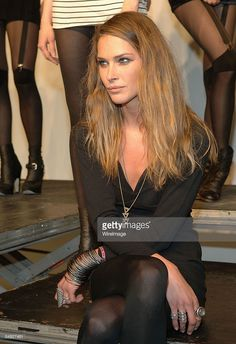 Model Erin Wasson attends the Erin Wasson + RVCA presentation and party during Mercedes-Benz Fashion Week Fall 2009 at Milk Studios, Penthouse on February 18, 2009 in New York City.