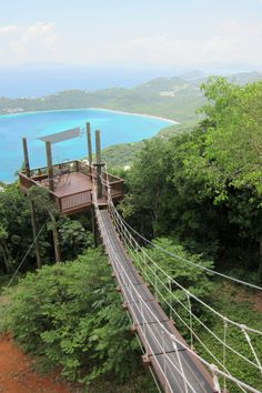 Ive always wanted to Zipline, but Ziplining in St. Thomas even sweeter!