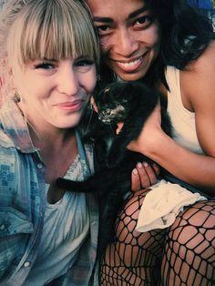 Here kitty kitty! @pisaypao @znation #SyFy #ZNation #zombies